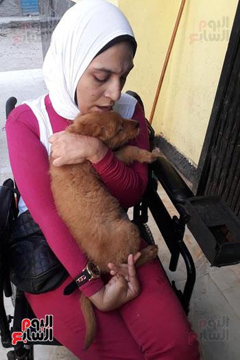 طبيب بيطرى يستخدم الحيوانات الأليفة (9)
