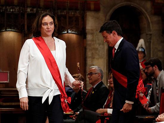 آدا كولو عمدة برشلونة