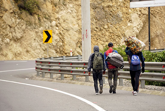هجرة المواطنين من فنزويلا