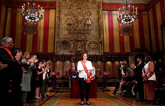 مراسم تنصيب آدا كولو