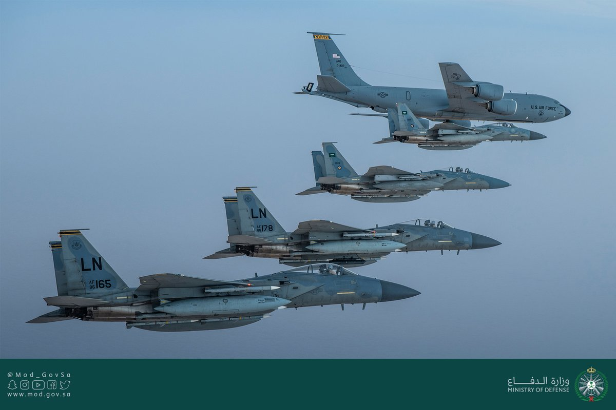 طائرات اف 15 سى السعودية