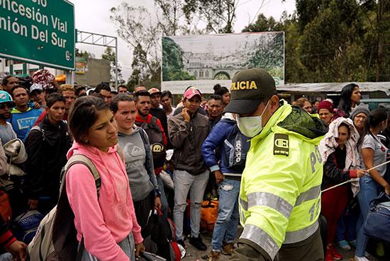 مهاجرين من فنزويلا