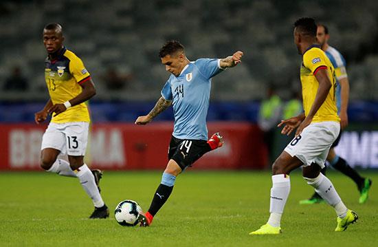 مباراة أورجواى والإكوادور
