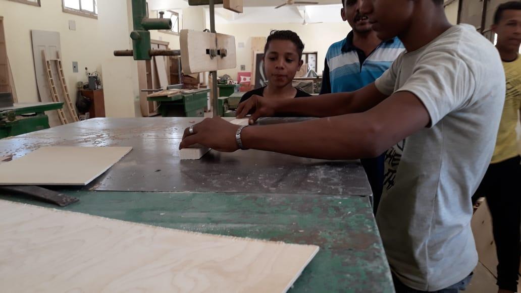 120 ساعة تأهيلية لطلاب التعليم الفنى بالوادى الجديد (3)