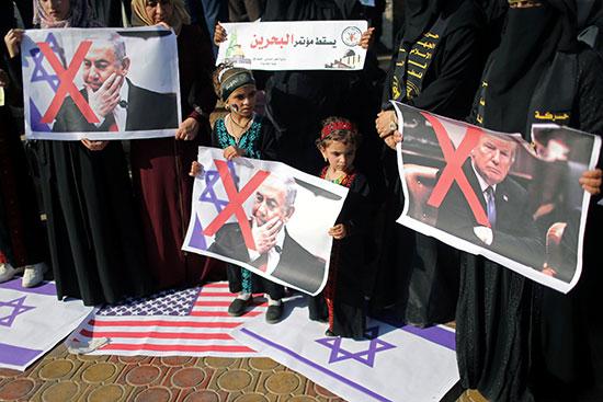 دعوات مناهضة لمؤتمر البحرين