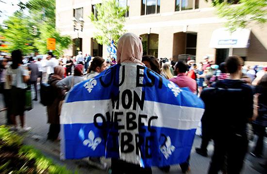 مظاهرة فى كندا