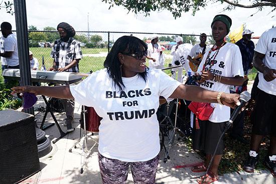 أمريكية تدعم ترامب
