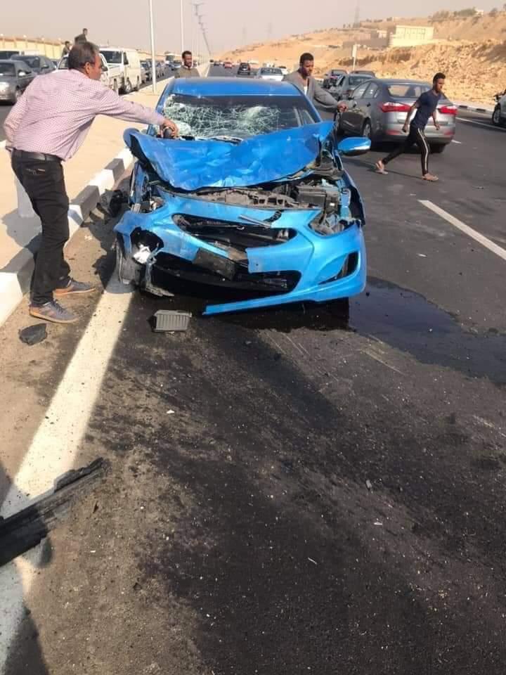 حادث تصادم بمحور المشير
