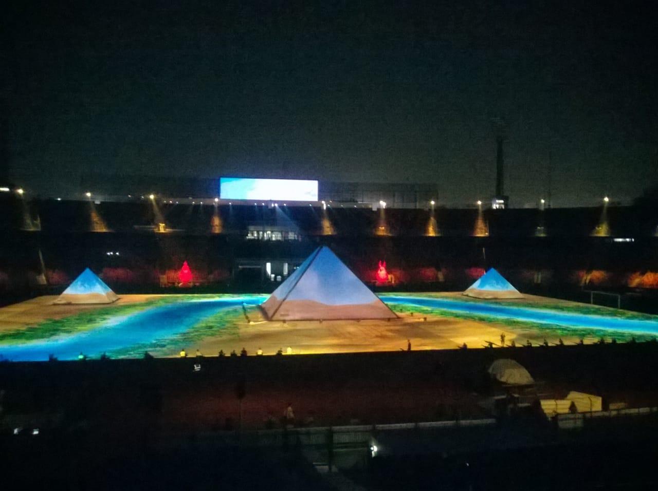 بروفة حفل افتتاح أمم أفريقيا (2)