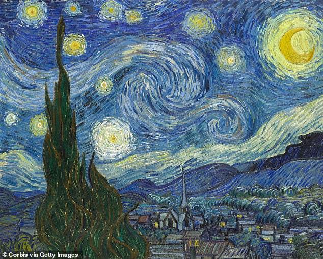 لوحة ليلة النجوم لفان جوخ