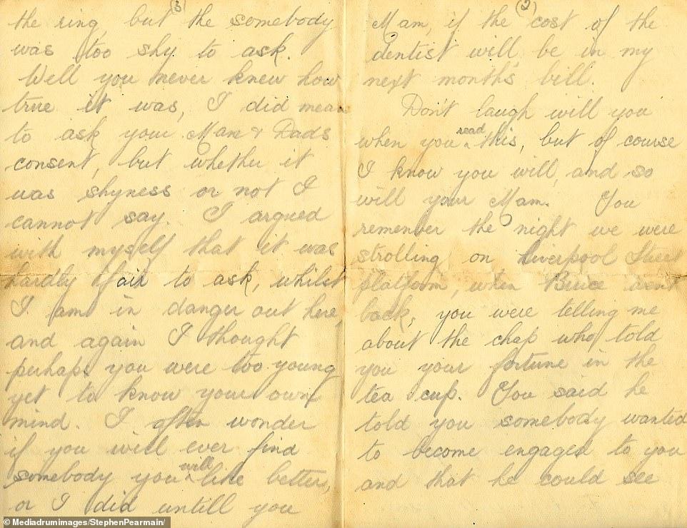 حفيد يعثر على رسائل حب لجديه تؤرخ للحرب العالمية الأولى (3)