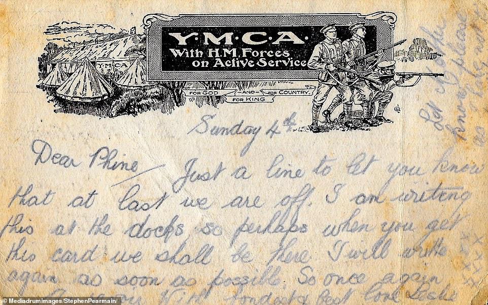 حفيد يعثر على رسائل حب لجديه تؤرخ للحرب العالمية الأولى (1)