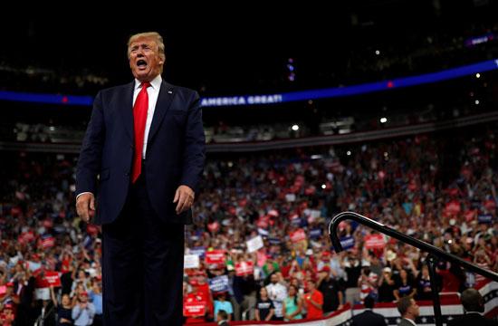 المؤتمر الانتخابى للرئيس الأمريكى دونالد ترامب