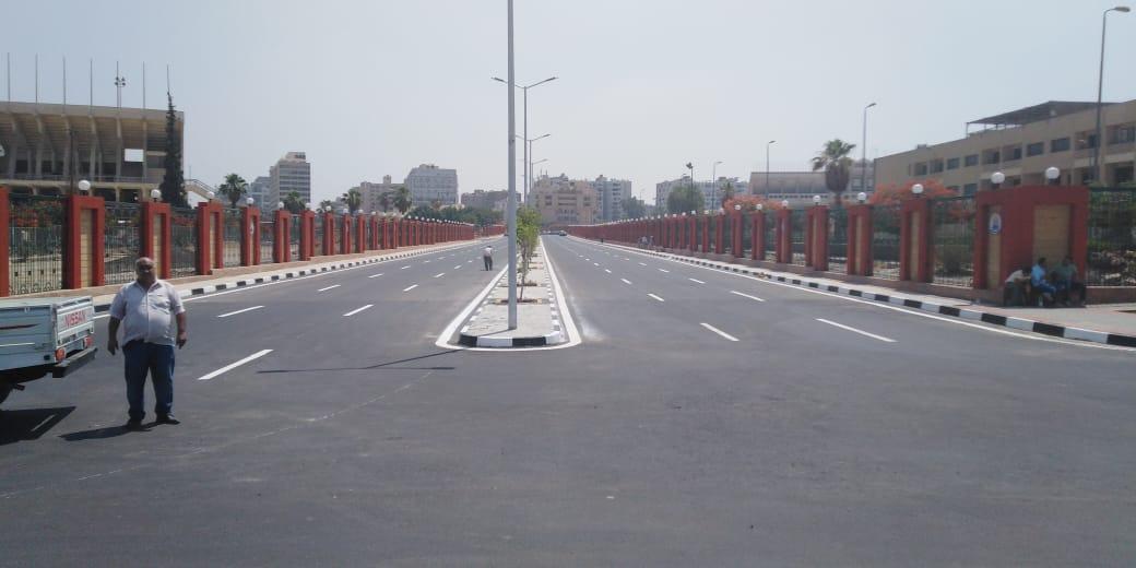 -انشاء شارع جديد بمحيط الاستاد