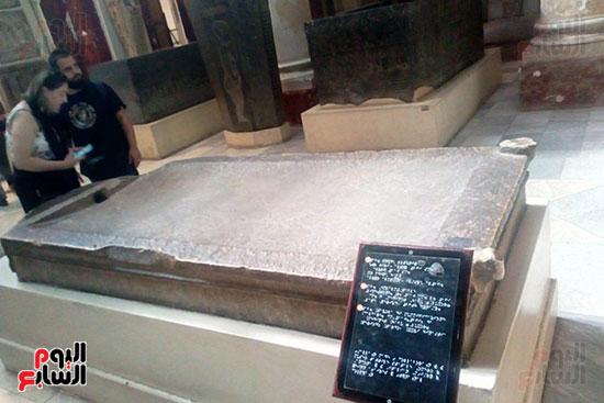 جانب-المسار-المخصص-للمكفوفين-فى-المتحف-المصرى-بالتحرير--(8)