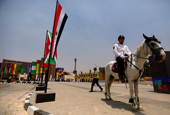 استعدادات مصر للبطولة