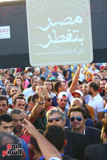 مصر بتفطر فى العاصمة الإدارية الجديدة