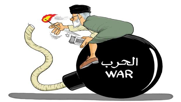 لإيران تشعل فتيل الحرب