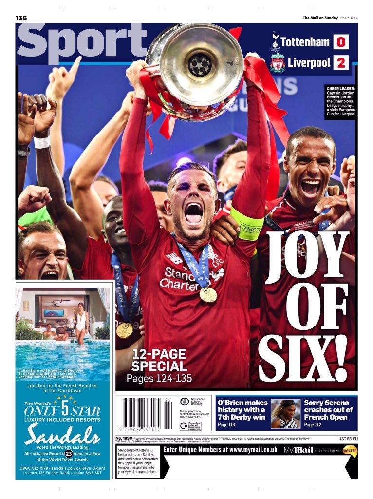 غلاف صحيفة ديلي ميل