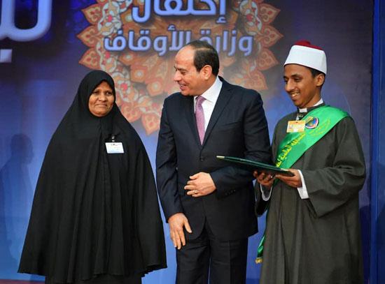 احتفال السيسى بليلة القدر (3)