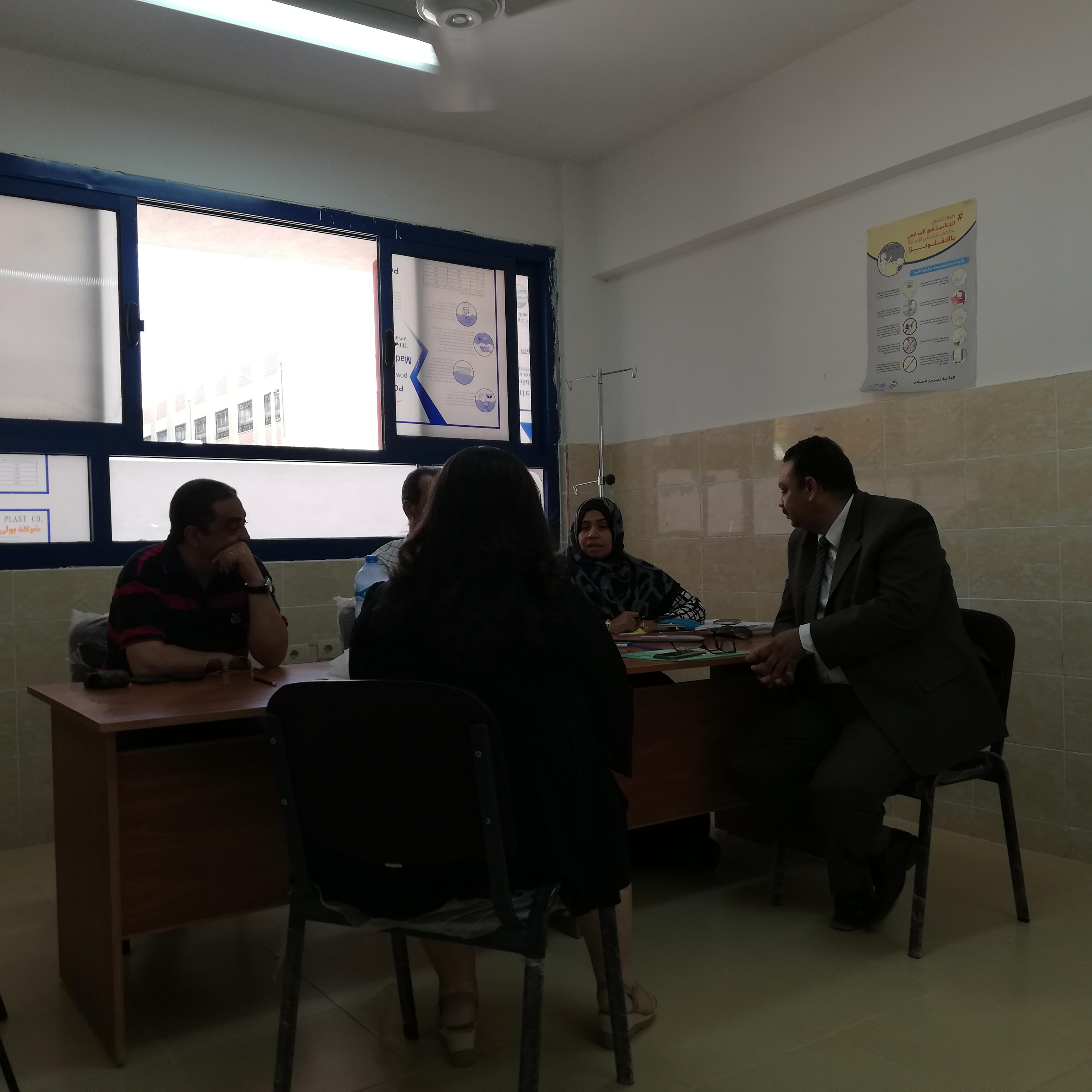 لجنة المقابلات الشخصية بالمدارس اليابانية بالغردقة (2)