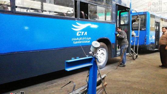 اتوبيسات هيئة النقل العام الجديدة (4)