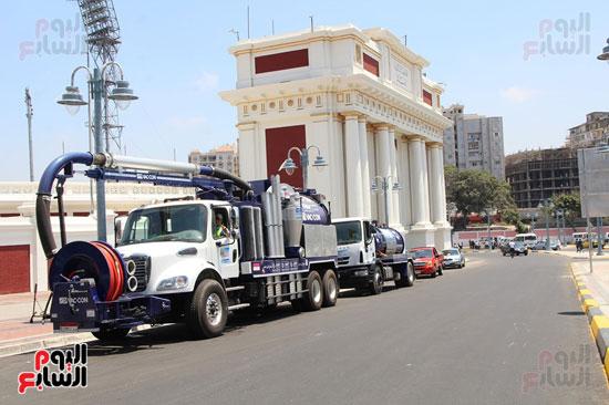استعدادات محافظة الاسكندرية (6)
