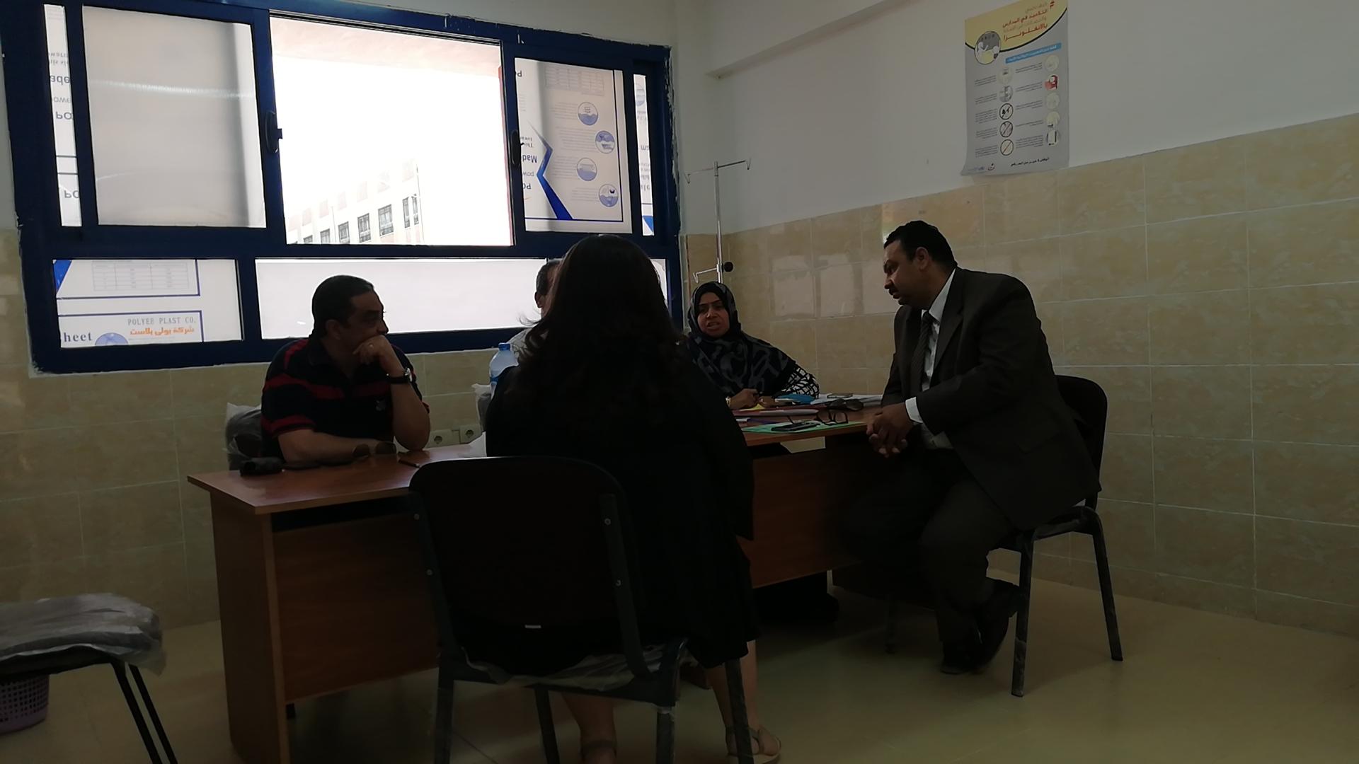 لجنة المقابلات الشخصية بالمدارس اليابانية بالغردقة (3)