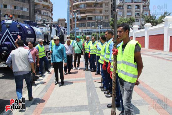 استعدادات محافظة الاسكندرية (5)