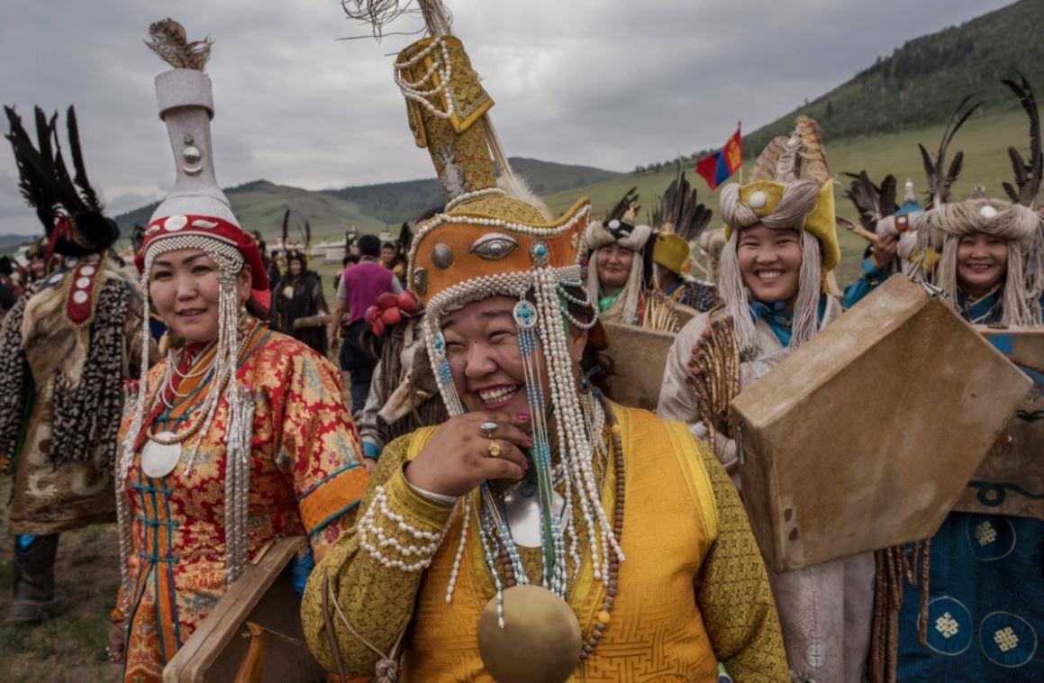 الانقلاب الصيفى فى منغوليا