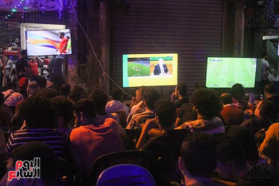 المقاهى تمتلئ بالجماهير لمتابعة أولى مباريات المنتخب بأمم أفريقيا (21)