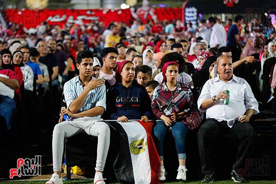 المقاهى تمتلئ بالجماهير لمتابعة أولى مباريات المنتخب بأمم أفريقيا (27)