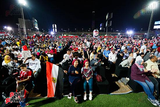 المقاهى تمتلئ بالجماهير لمتابعة أولى مباريات المنتخب بأمم أفريقيا (39)