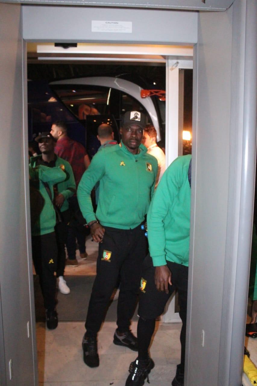 وصول منتخب الكاميرون لمحافظة الإسماعيلية (2)