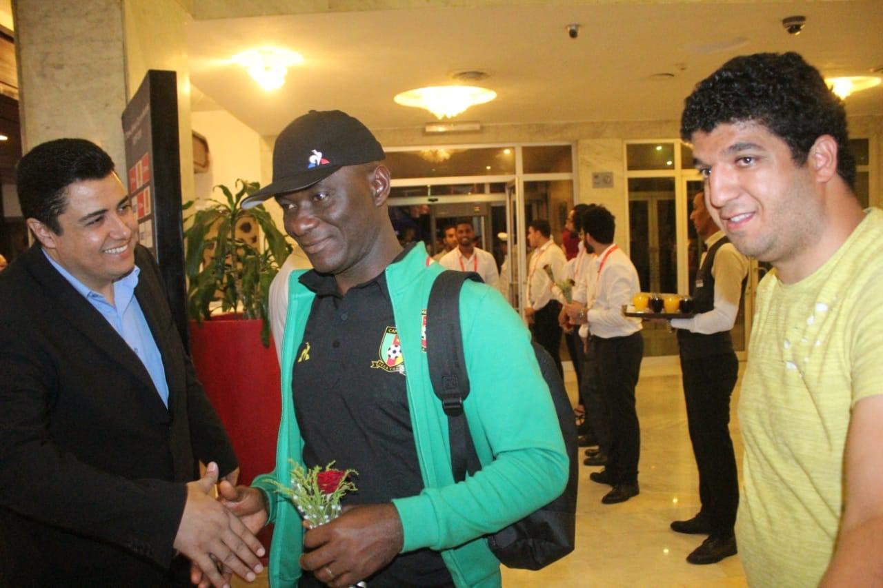 وصول منتخب الكاميرون لمحافظة الإسماعيلية (3)