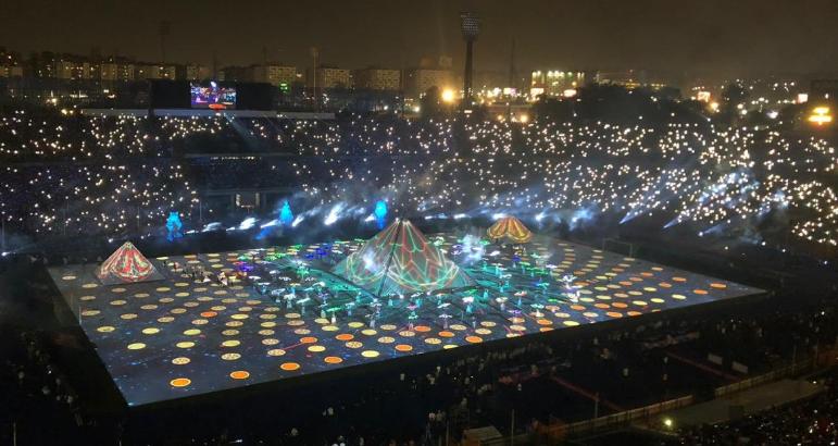 افتتاح البطولة الافريقية