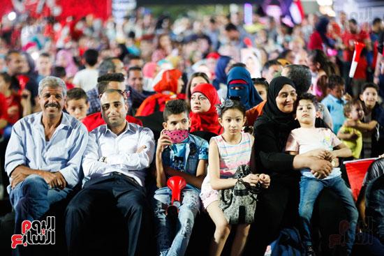 مصر فى الشارع بتشجع المنتخب (1)