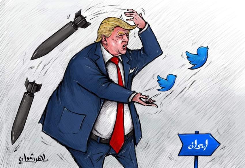 كاريكاتير صحيفة الرؤية الإماراتية
