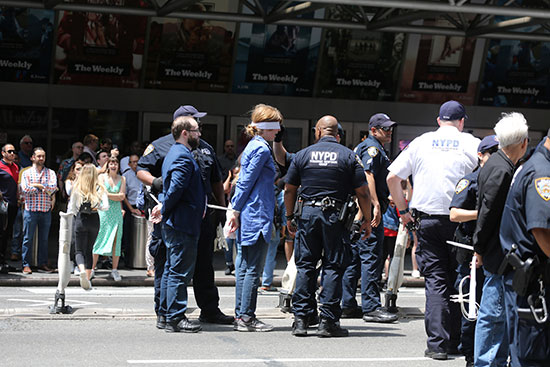 الشرطة البريطانية تعتقل متظاهرين