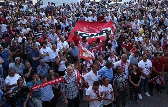 جانب من احتفالات مواطنى اسطنبول