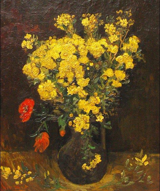 4. Van Gogh's Poppy Flowers