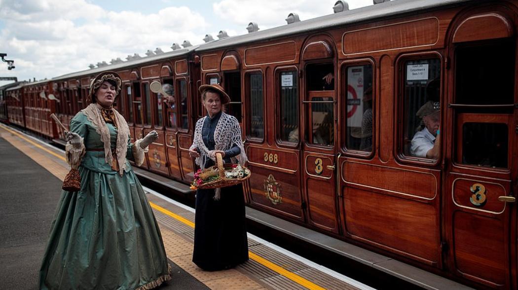 القطار الأثرى