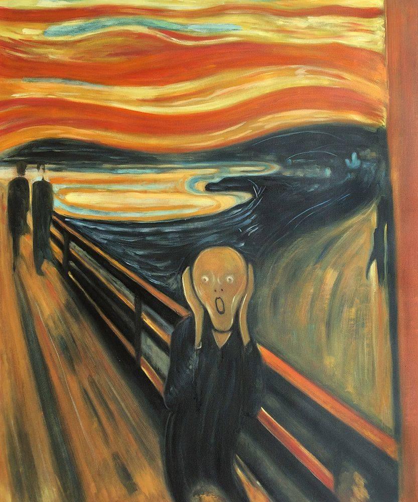 "5. Edvard Munch's ""The Scream"""