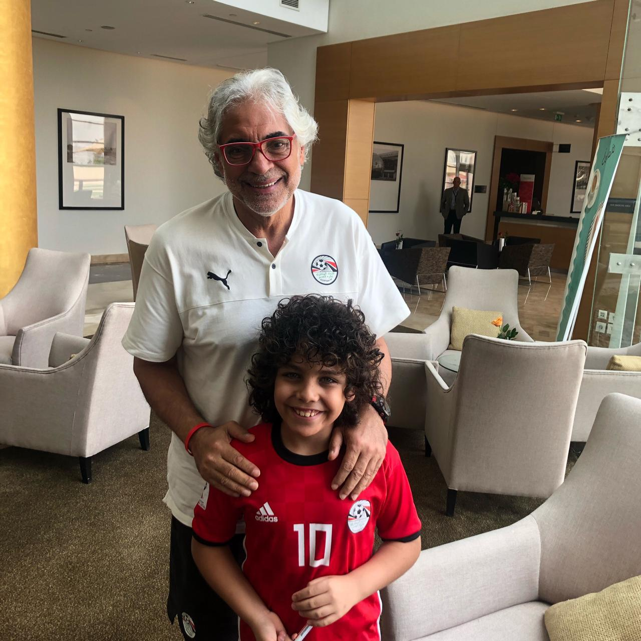 ابن فكرى صالح مع احمد ناجى