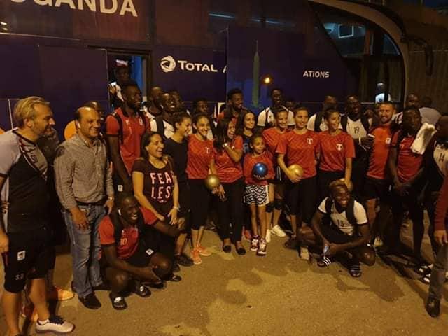 منتخب اوغندا و الجمباز 2