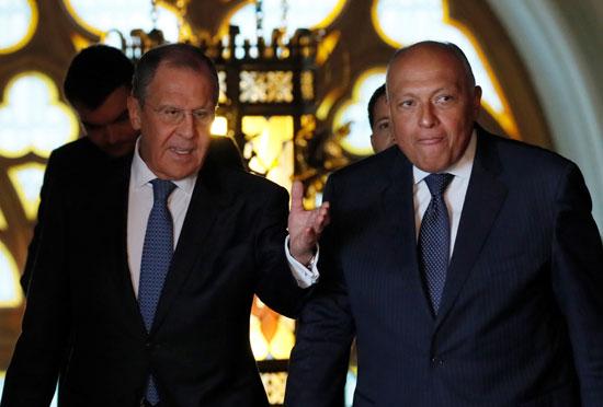 وزير-الخارجية-سامح-شكرى-ونظيره-الروسى