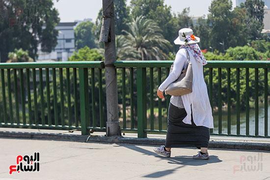 موجة-حار-شديد-فى-شوارع-القاهرة