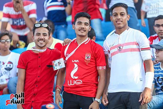 جماهير الأهلى والزمالك تشعل مدرجات تونس (6)
