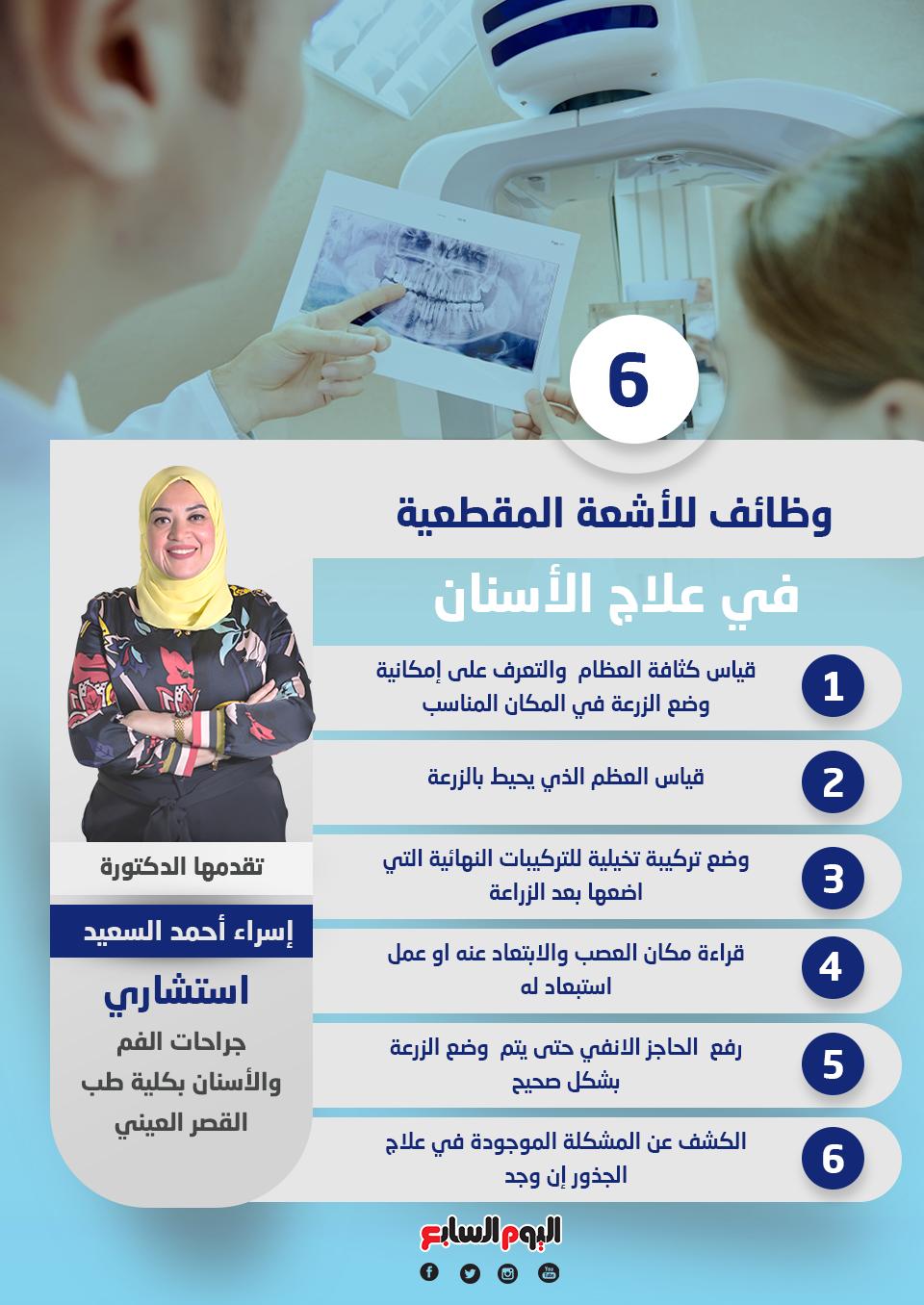 6 وظائف للأشعة المقطعية في علاج الأسنان