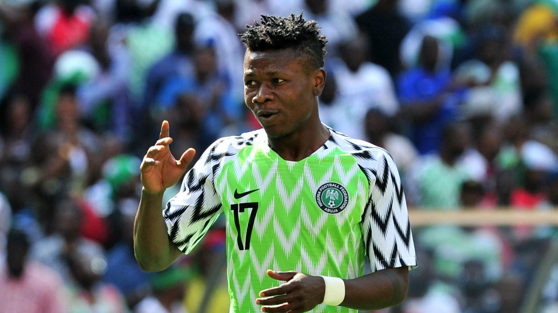 صامويل كالو لاعب نيجيريا